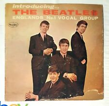 Beatles LP Introducing The Beatles Vee Jay oval label Version 2 Rare microgroove