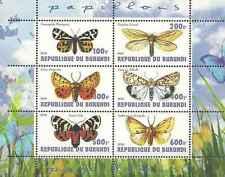 Timbres Papillons Burundi ** année 2011 lot 20430