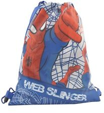 Bolsa Saco Mochila Mochila Spiderman Original Marvel Misurel 31cm X H 39 CM