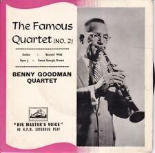"The Famous Quartet (No. 2) 7"" : The Benny Goodman Quartet"