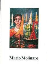 MARIO MOLINARO 1999 ARTE PITTURA LOCALE VERCELLI MONFERRATO PIEMONTE