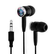 Dolphin Earth World Solar System Yin Yang Novelty In-Ear Earbud Headphones