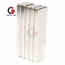 10pcs Big Strong Block Bar Fridge Magnets 40x10x4mm Rare Earth Neodymium N52