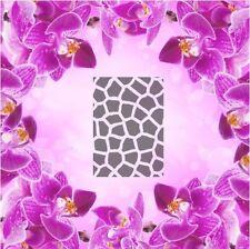 Giraffe Muster -2 Airbrush klebe Schablonen Nailart 20 Stk