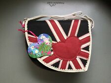 Irregular Choice Bag Union Jack Black Brand NEW