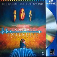LASERDISC - L'EXPERIENCE INTERDITE - PAL VF - Kiefer Sutherland, Kevin Bacon