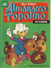 ALMANACCO TOPOLINO 1962 N.10