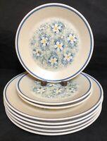 Lenox China DEWDROPS 5 Dinner Plates & 3 Salad Plates