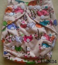 New Naughtybaby Cloth Diapers, Suede Inner Lining