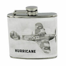 RAF Hurricane Sketch 5oz Hipflask