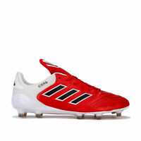 Mens adidas Mens Copa 17.1 FG Football Boots in red white - UK 6.5