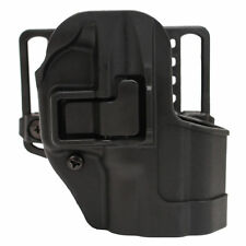 Blackhawk! 410531BK-R Serpa CQC, Belt & Paddle Holster, Plain Matte Black Finish