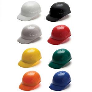 Ridgeline Safety Bump Cap with 4 Point Glide Lock Suspension, Lightweight 1/Each