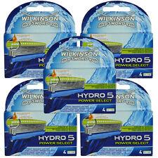 20 Wilkinson Hydro 5 Power Select Rasierklingen Neu Original Verpackt