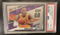 2019 Panini Mosaic LeBron James #8 Give and Go PSA 8 LAKERS NM-MINT