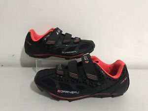 garneau multin airflex cycling shoes Bike Trainers Ladies Size 4.5