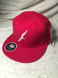 STALL & DEAN RED BIRDS FITTED HAT (7)