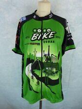 RTCSNV Maillot vélo Homme Taille XXL - Manches courtes - Viva Bike - Las Vegas