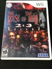 The House of the Dead 2 & 3 Return (Nintendo Wii, 2008) Complete
