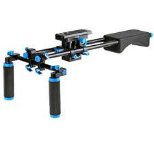 ayex D2-C Rig mit großer Baseplate, DSLR Schulterstativ für Videoaufnahmen
