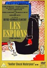 Les Espions (The Spies) All Region DVD Curd Jürgens, Peter Ustinov, O.E. Hasse