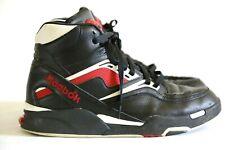 "Reebok Twilight Zone ""the Pump"" Black White Red Men's Size 10.5 Basketball Shoes"