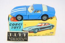 Corgi Toys 324 Marcos 1800 GT with Volvo engine very near mint in box