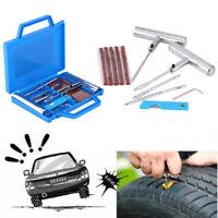 Kit de réparation crevaison pneu voiture tubeless mèches matériel professionnel