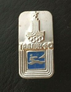 1980 Sailing XXII Olympic Games Moscow Soviet Pin Badge Sport ISFRegatta USSR