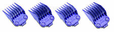 Andis Master DOUBLE Magnetic Clipper Guard Comb Guides LARGE 4 Piece set #01415