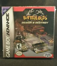 BattleBots: Design & Destroy (Nintendo Game Boy Advance, 2003) Sealed