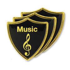 'Music' Subject Shield School Badge