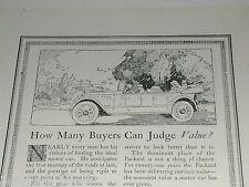 1920 PACKARD advertisement, Packard Motor Car Co, Twin Six engine
