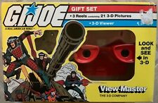 GI Joe View-Master 3-D Viewer Gift Set w/ 3 Reels 21 Pics New 1983 NEW SEALED