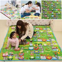 200*180 Nontoxic Baby Kids Play Mat Floor Rug Picnic Cushion Crawling Foam Mat