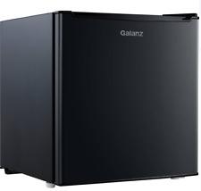 Galanz 1.7 Cu ft Single Door Compact Refrigerator Gl17Bk, Black