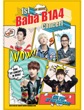 B1A4 1st Concert : Baba B1A4 In Seoul 3DVD+148p Photobook+5p Poster (On Pack)