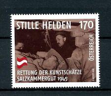 Austria 2016 MNH WWII Unsung Heroes Art Treasures Salzkammergut 1v Set Stamps
