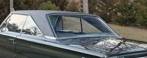 1966 1967 Plymouth Satellite Belvedere GTX Coronet BLACK Levant Vinyl Top Mopar