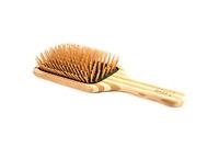 Bass Brushes | The Green Brush | Bamboo Pin + Bamboo Handle Hair Brush | Large