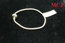 'Excellent Cond' Michael Hill Diamond Set & 10ct Yellow Gold 19cm Charm Bracelet