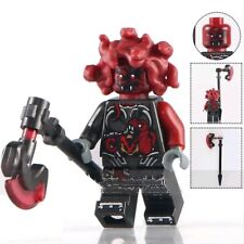 Ninjago General Machia Vermillion Medusa Snake Custom Lego Mini Figure Ninja