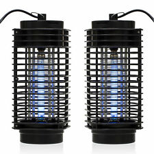 2PCS Indoor Bug Zapper Mosquito Trap Lamp Light Bulb Electronic Insect Killer SE