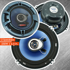 "2x New Gravity 6.5"" inch 2-Way 460 Watts Coaxial Car Speakers CEA Rated- 1 Pair"