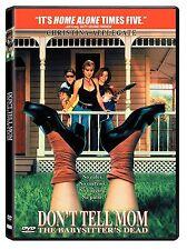 DON'T TELL MOM THE BABYSITTER'S DEAD (Christina Applegate)  (DVD) REGION  1