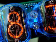 6 pcs. IN-12A (ИН-12А) NIXIE TUBES, RARE DISPLAY INDICATOR DIGITS, VINTAGE LAMP