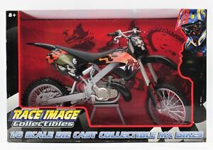 TOY ZONE RACE IMAGE COLLECTIBLES 1:6 SCALE DIE CAST  MX BIKES NEW