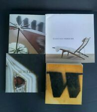 Lot of 4 Wright Auction Catalogs- Modern Scandinavian Design Jewels, 2007-2015