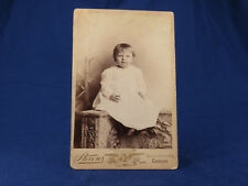 Stevens Cabinet Portrait Young Girl Child on Wall Chicago IL SO SWEET
