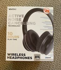 Wireless Headphones by Vivatar - Active Noise Canceling Technology - 10 hrs play